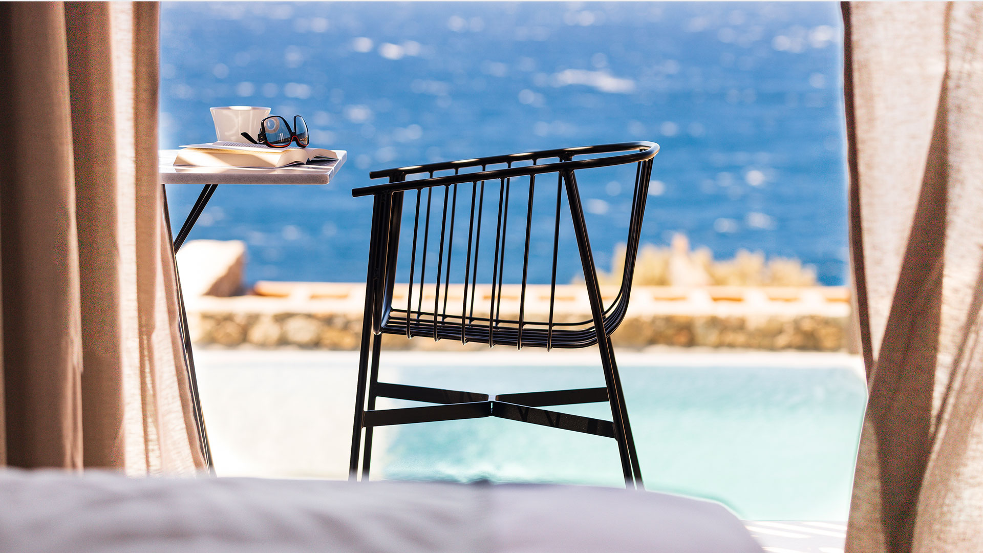 mykonos suites with private pool