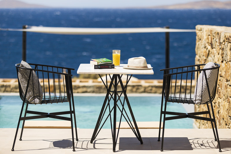 Mykonos Soul, suites with private pool